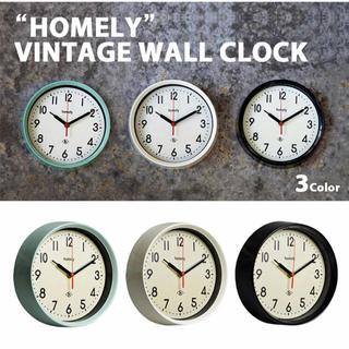 アクタス(ACTUS)のHOMELY ビンテージ ウォールクロック(掛時計/柱時計)
