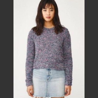 SLY - 新品 SLY MIX SHAGGY CROPPED MG TOPS