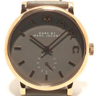 マークバイマークジェイコブス(MARC BY MARC JACOBS)のマークジェイコブス 腕時計 MBM1266 グレー(腕時計)