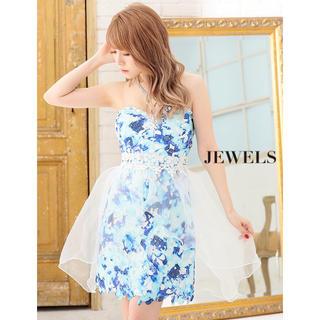 ジュエルズ(JEWELS)のewels 大人気で再入荷❗️ ひらひら可愛い💓ベアドレス(ミニドレス)