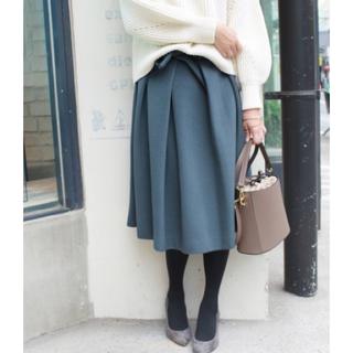 イエナスローブ(IENA SLOBE)のスローブイエナ フロントリボン スカート(ひざ丈スカート)