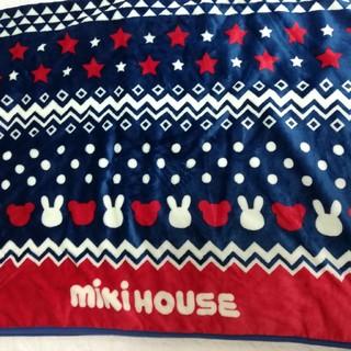 ミキハウス(mikihouse)のMIKI HOUSE オリジナルブランケット(おくるみ/ブランケット)