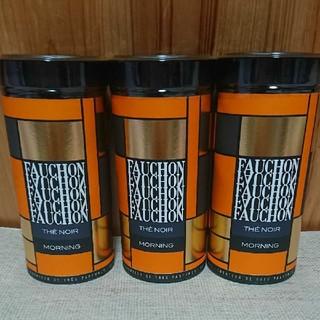 タカシマヤ(髙島屋)の値下げ!FAUCHON フォション紅茶モーニング120g3缶セット(茶)