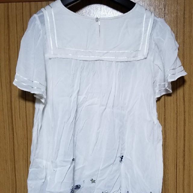 franche lippee(フランシュリッペ)のフランシュリッペ マリン ブラウス fl5 大きいサイズ レディースのトップス(シャツ/ブラウス(半袖/袖なし))の商品写真