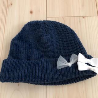 プティマイン(petit main)のニット帽 M プチマイン(帽子)