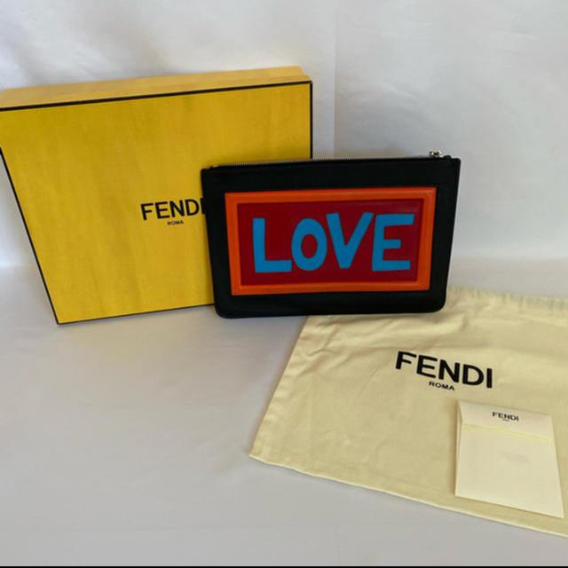 FENDI(フェンディ)のFENDI クラッチバック 7N0078A0FV メンズのバッグ(セカンドバッグ/クラッチバッグ)の商品写真