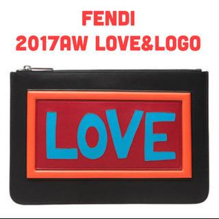 フェンディ(FENDI)のFENDI クラッチバック 7N0078A0FV(セカンドバッグ/クラッチバッグ)