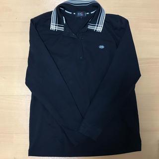 ニジュウサンク(23区)の23区sport サイズ2 黒 ポロ(ポロシャツ)