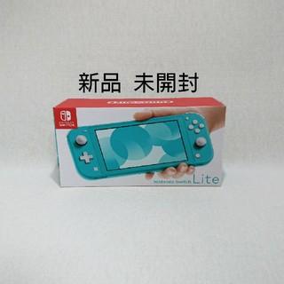 ニンテンドースイッチ(Nintendo Switch)のNintendo Switch Lite 任天堂スイッチライト ターコイズ(携帯用ゲーム機本体)