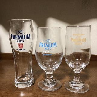 サントリー(サントリー)のサントリー プレミアムモルツ ビールグラス 非売品 3本(グラス/カップ)