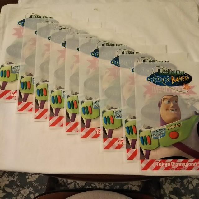 トイ・ストーリー(トイストーリー)のバズ.ライトイヤー ビニール袋 9枚 エンタメ/ホビーのおもちゃ/ぬいぐるみ(キャラクターグッズ)の商品写真