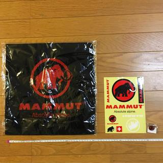 マムート(Mammut)のMAMMUT  ハンドタオル ステッカー ピンバッジ(ノベルティグッズ)