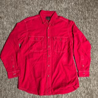 Levi's - 90s リーバイス 後染め ワークシャツ ヴィンテージ   ビンテージ