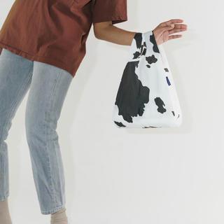 L'Appartement DEUXIEME CLASSE - 牛柄カウブラック&ホワイト【Baby】BAGGU 新品未使用 匿名発送