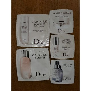 クリスチャンディオール(Christian Dior)の5点セット 新品 未使用 ディオール カプチュール(美容液)