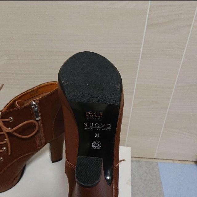 Nuovo(ヌォーボ)のショートブーツ NUOVO レディースの靴/シューズ(ブーツ)の商品写真