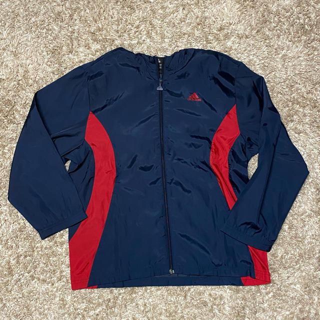 adidas(アディダス)の【adidas】スポーツ着  上着  ジャケット 140cm サッカー スポーツ/アウトドアのサッカー/フットサル(ウェア)の商品写真