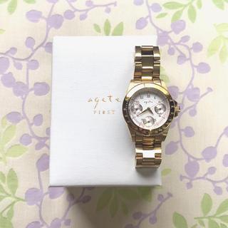 アガット(agete)のagete   ㊿ 腕時計・稼動品✨(腕時計)