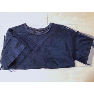 ダブルクローゼット(w closet)の✩SALE✩w closet チュールTシャツ(Tシャツ(半袖/袖なし))