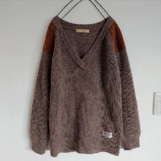 ローズバッド(ROSE BUD)のローズバッド×Harris Tweedセーター(ニット/セーター)