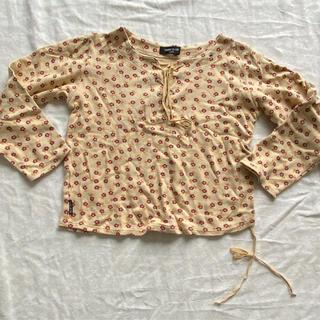 コムサイズム(COMME CA ISM)のコムサイズム 花柄 長袖 カットソー 120 ロンT(Tシャツ/カットソー)