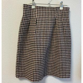Debut de Fiore - 千鳥格子柄 チェック 膝丈スカート