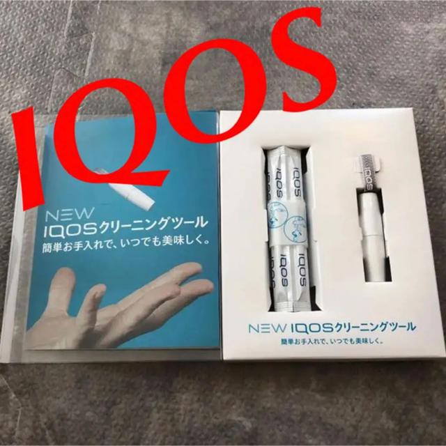 【新品】  アイコス   IQOS   クリーニング   綿棒 メンズのファッション小物(タバコグッズ)の商品写真