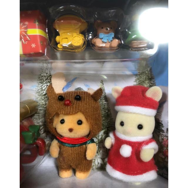 EPOCH(エポック)のシルバニアファミリー GLちいさなクリスマス エンタメ/ホビーのおもちゃ/ぬいぐるみ(キャラクターグッズ)の商品写真