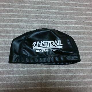 ミズノ(MIZUNO)のセントラル 黒帽子 M(マリン/スイミング)