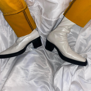 ジョンローレンスサリバン(JOHN LAWRENCE SULLIVAN)のVintage square boots 39 40(ブーツ)