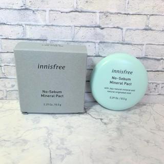 Innisfree - イニスフリー ノーセバムミネラルパクト 新品