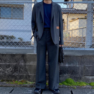 sunsea サンシー 18SS SNM BLUE-JACKET