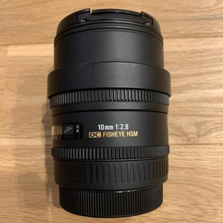 SIGMA - SIGMA 魚眼レンズ 10mm F2.8  キャノン