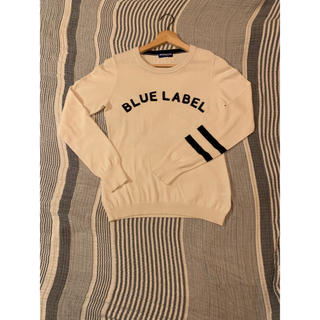 BURBERRY BLUE LABEL - blue label Burberry ニット