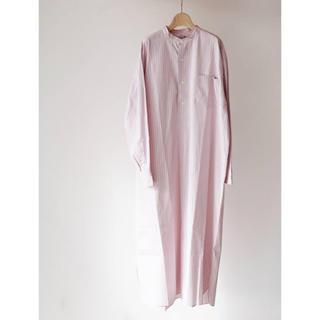 ヤエカ(YAECA)のlenoandco band collar pullover dress(ロングワンピース/マキシワンピース)