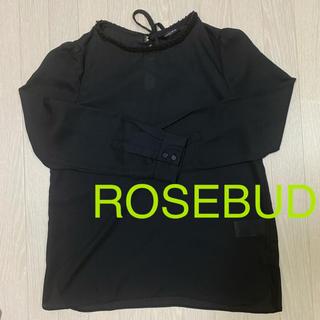 ローズバッド(ROSE BUD)のROSEBUD ブラウス(シャツ/ブラウス(長袖/七分))