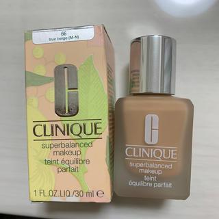 CLINIQUE -  クリニーク スーパーバランスド メークアップ  66 トゥルーベージュ