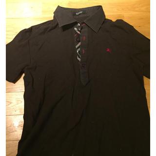 バーバリーブラックレーベル(BURBERRY BLACK LABEL)の早い者勝ち!(^^)バーバリー メンズのポロシャツ M(ポロシャツ)