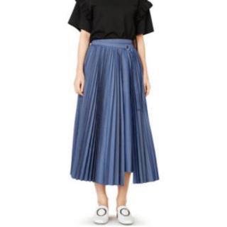 ルシェルブルー(LE CIEL BLEU)のルシェルブルー プリーツスカート(ロングスカート)