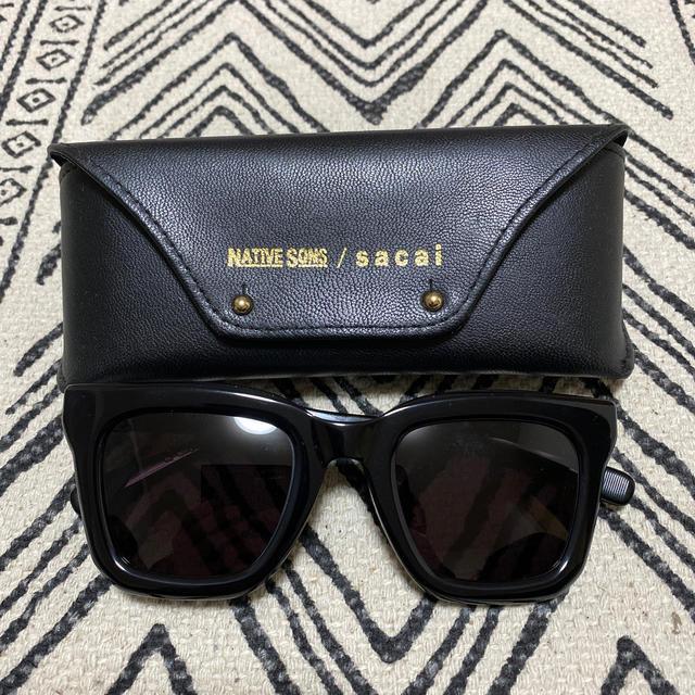 sacai(サカイ)の NATIVE SONS sacai サカイ サングラス 眼鏡 メンズのファッション小物(サングラス/メガネ)の商品写真
