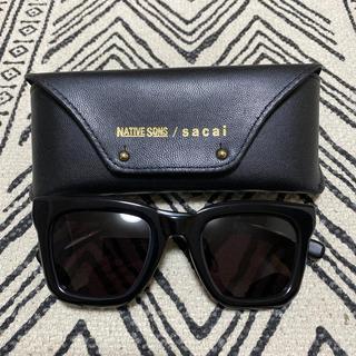 サカイ(sacai)の NATIVE SONS sacai サカイ サングラス 眼鏡(サングラス/メガネ)