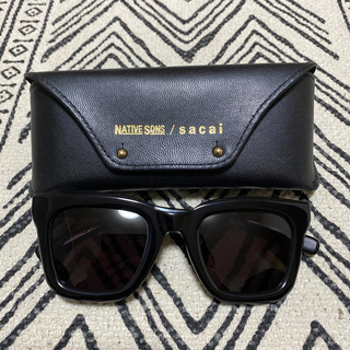 サカイ(sacai)の新品未使用 NATIVE SONS sacai サカイ サングラス 眼鏡(サングラス/メガネ)