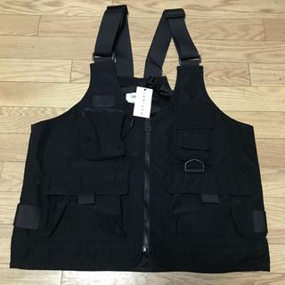 LORINZA - LORINZA✖️STUDIOUS 2Way Bag Vest Black