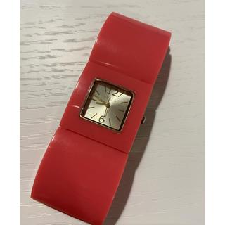 フルラ(Furla)のフルラ プラスチックバングル ウォッチ(腕時計)