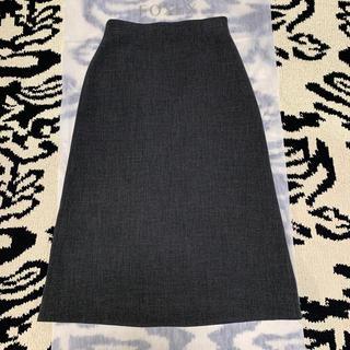 ルシェルブルー(LE CIEL BLEU)のルシェルブルー ハイウエスト ロングスカート 38(ロングスカート)