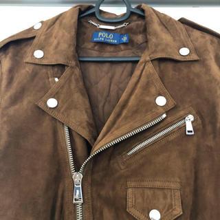 ラルフローレン(Ralph Lauren)のラルフローレン ヤギ革 ライダース❤︎(ライダースジャケット)