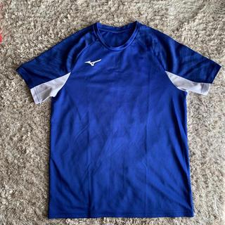 ミズノ(MIZUNO)のミズノ プラシャツ Mサイズ ブルー(ウェア)