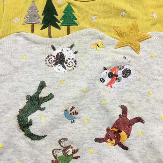 kladskap(クレードスコープ)のコロボックル×クレードスコープ トレーナー 100☆ キッズ/ベビー/マタニティのキッズ服男の子用(90cm~)(Tシャツ/カットソー)の商品写真