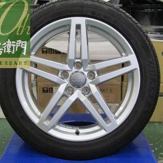 アウディ(AUDI)のアウディ 4G系 A6純正 5スポークデザイン 4本セット(タイヤ・ホイールセット)