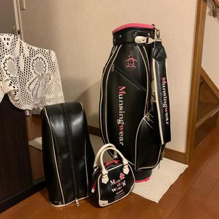 マンシングウェア(Munsingwear)の高級ブランド🐧Munsigng wearレディースゴルフバッグ & ポーチ(バッグ)